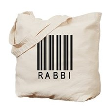 Rabbi Barcode Tote Bag