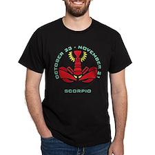 Scorpio date T-Shirt