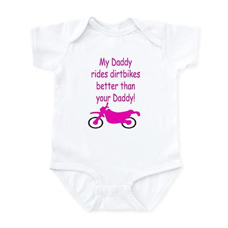 Dirt biker (girl) Infant Bodysuit