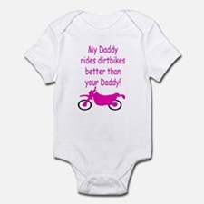 Dirt biker (girl) Infant Bodysuit