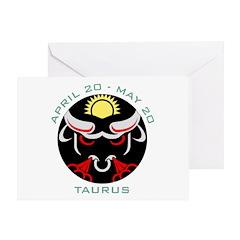 Taurus date Greeting Card