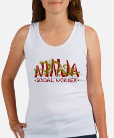 Dragon Ninja Social Worker Women's Tank Top