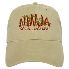 Dragon Ninja Social Worker Baseball Cap