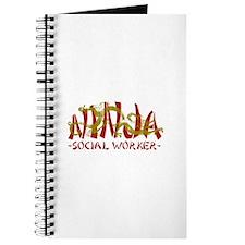 Dragon Ninja Social Worker Journal