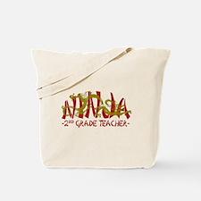 Dragon Ninja 2nd Grade Teacher Tote Bag
