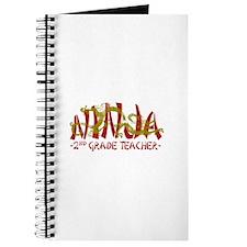 Dragon Ninja 2nd Grade Teacher Journal