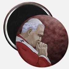 Pope John Paul II Magnet