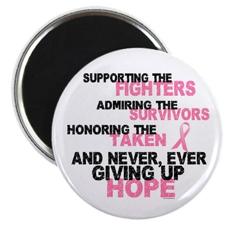 Fighters Survivors Taken 3 Pink Magnet