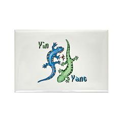 YinYang Lizards Rectangle Magnet (100 pack)