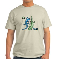 YinYang Lizards Light T-Shirt