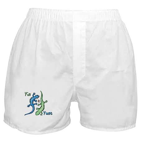 YinYang Lizards Boxer Shorts