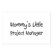 Mommy's Little Project Manager Postcards (Package