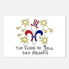 Fleur de July Postcards (Package of 8)