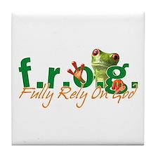 F.R.O.G. Tile Coaster
