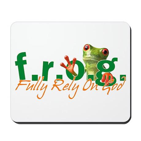 F.R.O.G. Mousepad