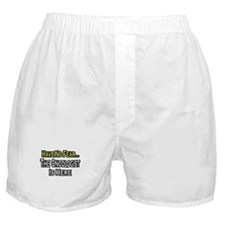 """Have No Fear: Oncologist"" Boxer Shorts"