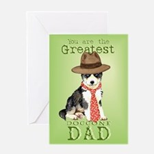 Husky Father's Day Greeting Card