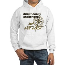 Directionally Challenged Hoodie Sweatshirt