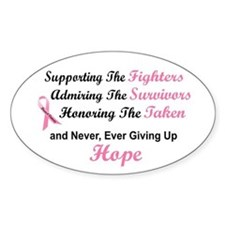 Supporting Admiring Honoring 1.2 (BC) Decal
