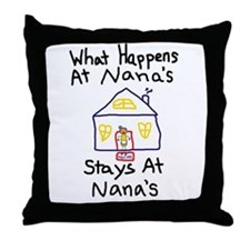 Nana's House Throw Pillow