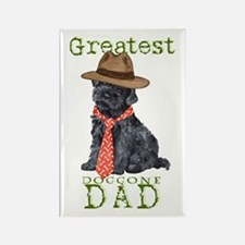 Kerry Blue Dad Rectangle Magnet