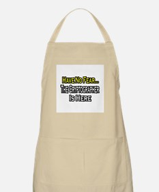 """Have No Fear: Cryptographer"" BBQ Apron"