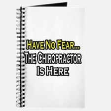 """""""Have No Fear: Chiropractor"""" Journal"""