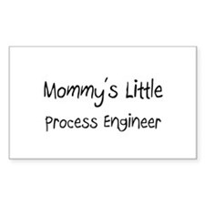 Mommy's Little Process Engineer Sticker (Rectangle