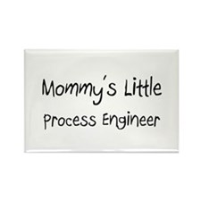 Mommy's Little Process Engineer Rectangle Magnet