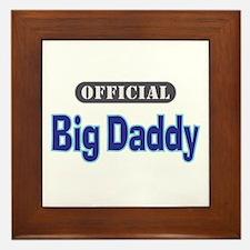 Official Big Daddy - Framed Tile