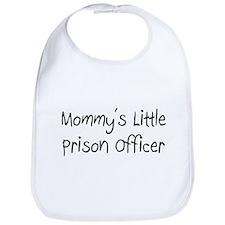 Mommy's Little Prison Officer Bib