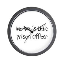 Mommy's Little Prison Officer Wall Clock
