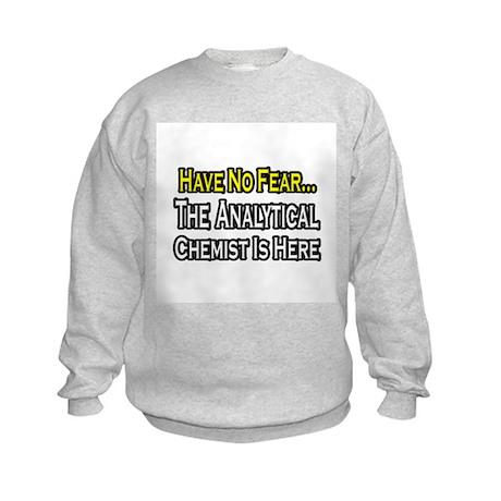 """Analytical Chemist Is Here"" Kids Sweatshirt"