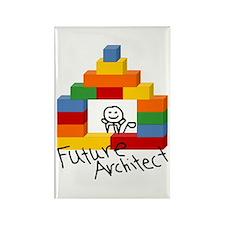 Future Architect Rectangle Magnet