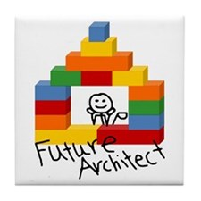 Future Architect Tile Coaster