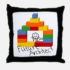 Future Architect Throw Pillow