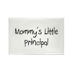 Mommy's Little Principal Rectangle Magnet