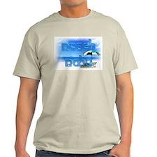 Scenic Beach Babe Ash Grey T-Shirt