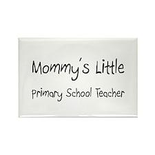 Mommy's Little Primary School Teacher Rectangle Ma