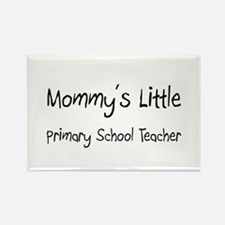 Mommy's Little Primary School Teacher Rectangle Ma