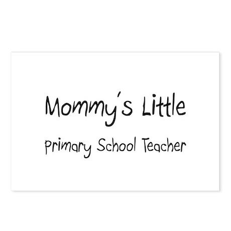 Mommy's Little Primary School Teacher Postcards (P
