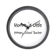 Mommy's Little Primary School Teacher Wall Clock