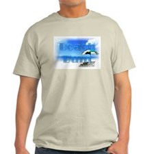 Scenic Beach Bum Ash Grey T-Shirt