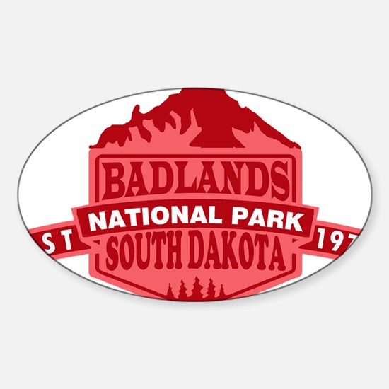 Badlands - South Dakota Decal