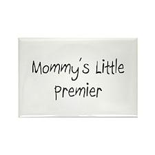 Mommy's Little Premier Rectangle Magnet