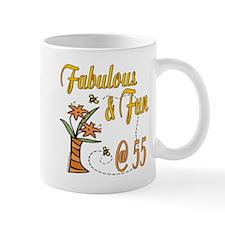 Floral 55th Small Mug
