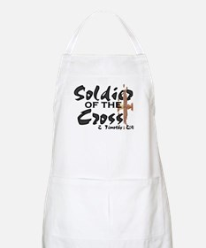 Soldier of The Cross BBQ Apron