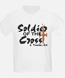 Soldier of The Cross Kids T-Shirt