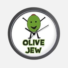 Olive Jew! Wall Clock