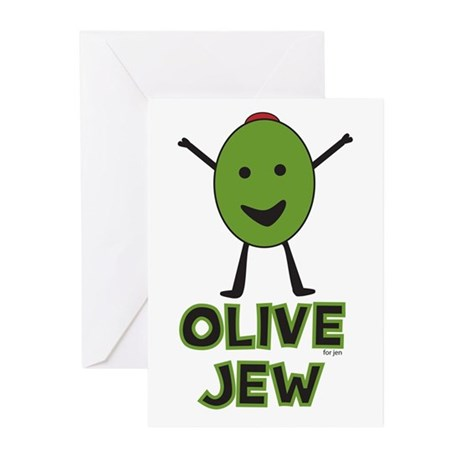 Olive Jew! Greeting Cards (Pk of 10)